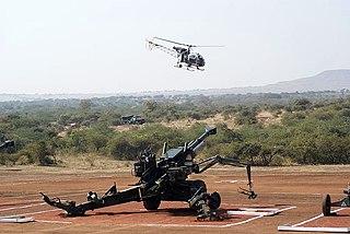 Dhanush (howitzer) Type of Towed howitzer