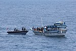 Indian Navy personnel from INS Trishul apprehending a pirate vessel.jpg