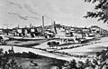 Industrialisation; 19th c. town in Lancashire Wellcome M0003212.jpg