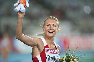 Ineta Radēviča Latvian athlete