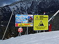 Information table in Jasná Ski Resort1.JPG