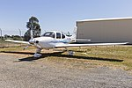 Inland Truck Centres (VH-USW) Cirrus SR22 G2 Australis on display at the 2018 Wagga City Aero Club open days.jpg