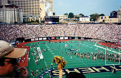 1998 game against Penn State at Pitt Stadium InsidePittStadium.jpg