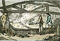 Inside of a Saltern at Lymington. Saltpans with the manner of making salt (caricature) RMG PW4948.jpg