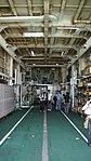 Inside the Helicopter hangar of JCG Settsu(PLH-07) at Port of Kobe July 22, 2017 04.jpg