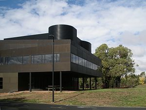 "Villa Savoye - The southern hemisphere ""shadow"" of the Villa Savoye, in Canberra, Australia"