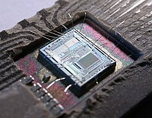 integrated circuit wikipediathe die from an intel 8742, an 8 bit microcontroller that includes a cpu running at 12 mhz, 128 bytes of ram, 2048 bytes of eprom, and i o in the same chip