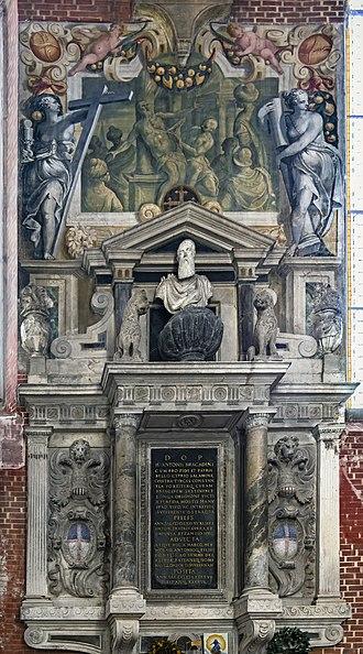 Marco Antonio Bragadin - Tomb in  San Zanipolo