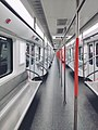 Interior of the train, Wuhan Metro Line 7 (1).jpg