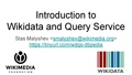 Introduction to Wikidata and Query Service - DBpedia meetup.pdf