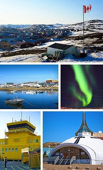 Iqaluit - Image: Iqaluit Montage
