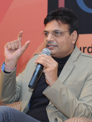 Irshad Kamil - Kamil at Delhi Poetry Festival on 19 January 2013