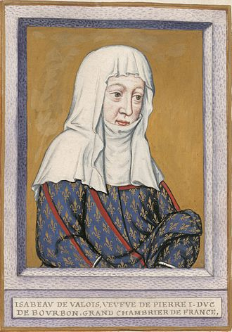 Isabella of Valois, Duchess of Bourbon - Isabella in her later years