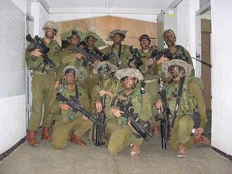 Netzah Yehuda Battalion - Image: Israeli Urban combat