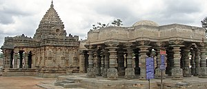 Koppal district - Mahadeva Temple at Itagi in the Koppal district, 1112 CE, an example of Karnata-Dravida articulation with a nagara superstructure