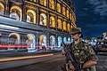 Italian Army - 5th Alpini Regiment guarding the Colosseum in Rome.jpg
