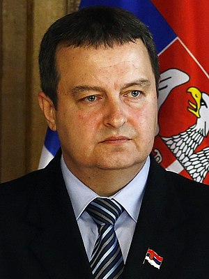 Ministry of Foreign Affairs (Serbia) - Ivica Dačić, the current Minister of Foreign Affairs of Serbia.