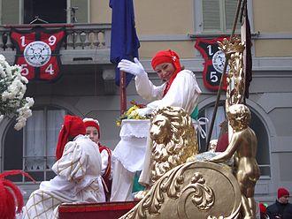 Droit du seigneur - The Mugnaia in Ivrea