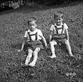 Iztok in Marko Močnik, Krtečne 1954.jpg