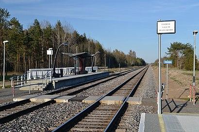 Kuidas ühistranspordiga sihtpunkti Jäneda Raudteejaam jõuda - kohast
