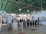 JFK UMass station waiting room interior, April 2016.JPG
