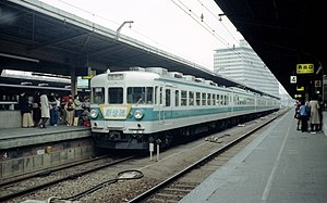 153 series - Image: JNR SHIN KAISOKU at OSAKA 153
