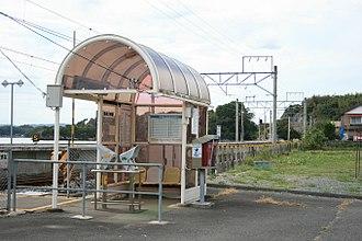 Rikuzen-Ōtsuka Station - Rikuzen-Ōtsuka Station, September 2007