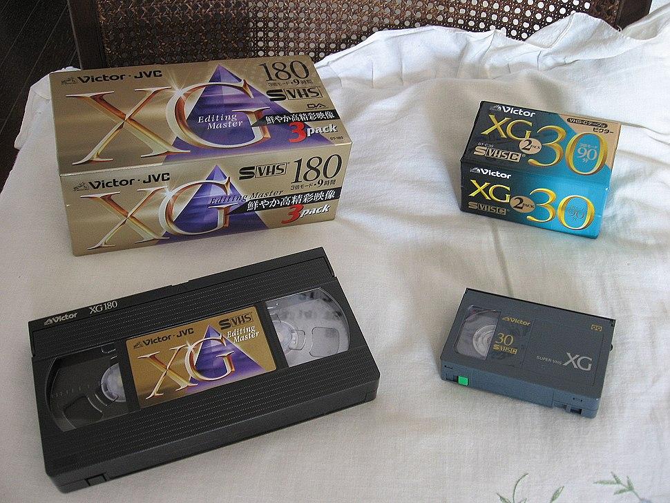 JVC-VHS Cassette001