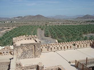 Bil'arab bin Sultan - View from the castle at Jabrin