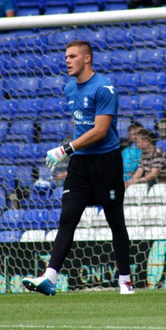 Jack Butland - Butland with Birmingham City in 2012