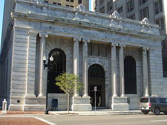 Laura Street Trio - The Old Florida National Bank, also known as the Marble Bank