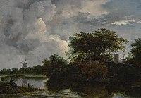 Jacob van Ruisdael - River Landscape with an Angler 350N10007 9Z5BR.jpg