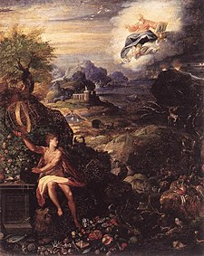 Jacopo Zucchi - Allegory of the Creation