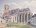 Jakob Alt - Die Domkirche in Pressburg - 1842.jpeg