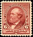 James Garfield 1890 Issue-6c.jpg