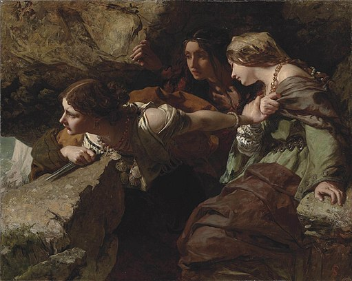 James Sant - Courage, Anxiety and Despair - Watching the Battle