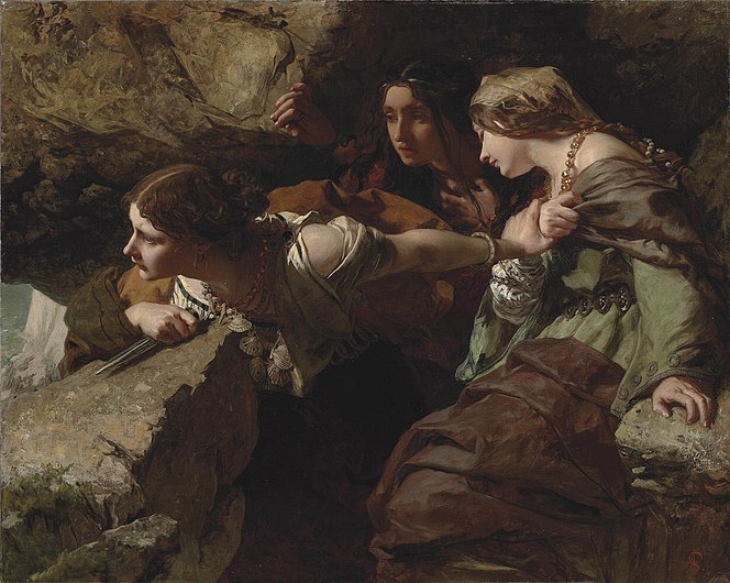 James Sant - Courage, Anxiety and Despair - Watching the Battle.jpg