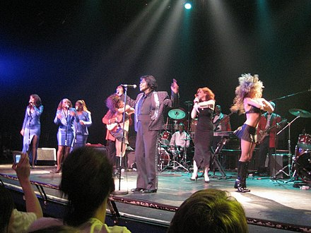 James Brown performing in June 2005 Jamesbrown3.jpg