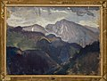 Jan Stanisławski - Landscape from the Tatra Mountains – two-sided painting - MNK II-b-641-b - National Museum Kraków.jpg