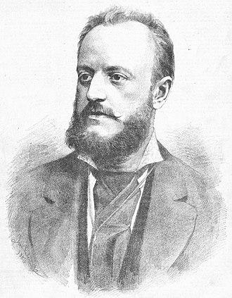 Karel Bendl - Portrait of Karel Bendl by Jan Vilímek