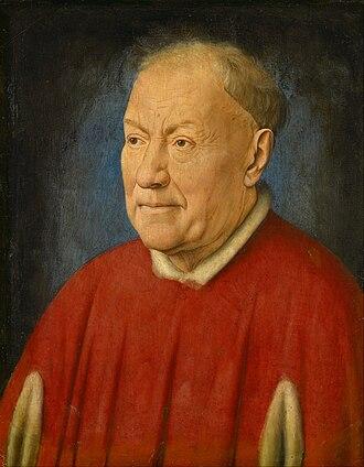 Niccolò Albergati - Portrait c. 1431.