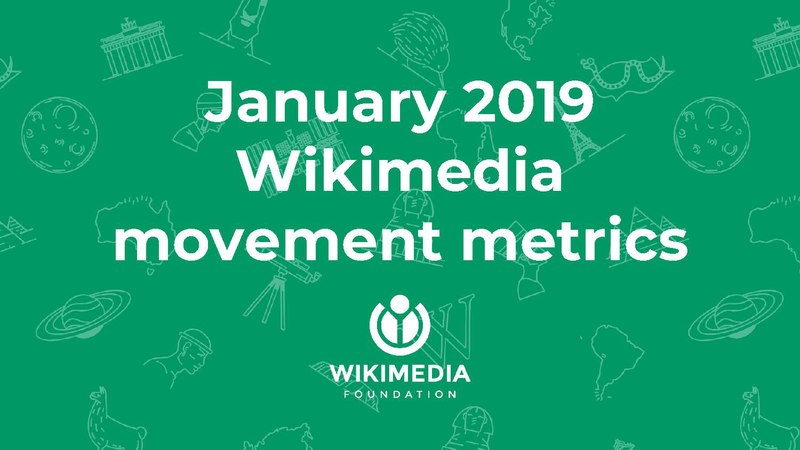 File:January 2019 Wikimedia movement metrics.pdf