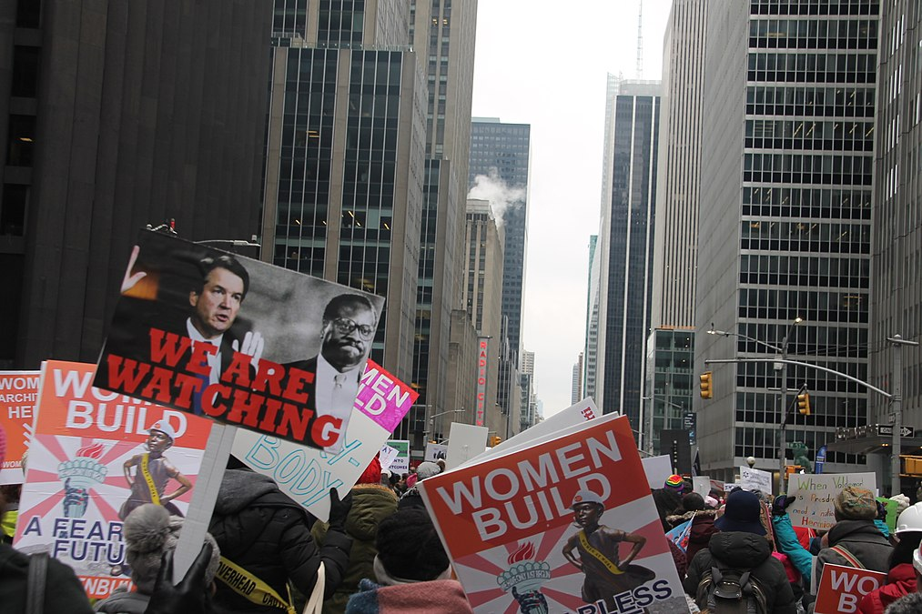 January 2019 Women's Alliance march in NYC (39840765053).jpg
