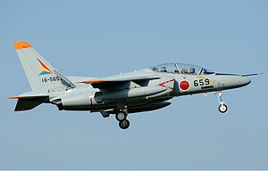 Japan Air Self-Defence Force Kawasaki T-4 Aoki-1.jpg
