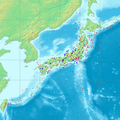 Japan earthquake map.png