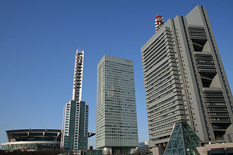 Saitama New Urban Center - Image: Japanese Saitama Shintoshin west building