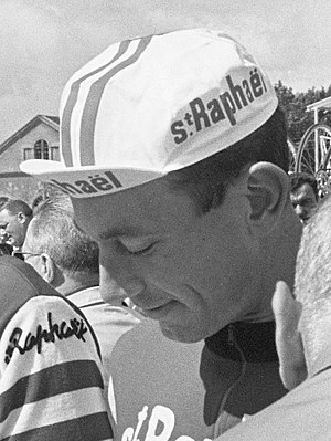 Casquette - Jean-Claude Lebaube wearing a casquette in 1964