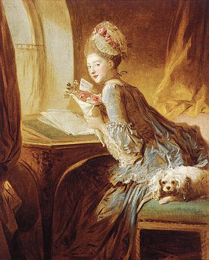 Love letter - The Love Letter by Jean-Honoré Fragonard.