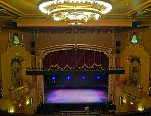 Jefferson Theatre - Image: Jefferson Theatre Auditorium Beaumont, from Balcony