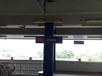 Bagaimana untuk pergi ke Jelatek dengan pengangkutan awam - Tentang tempat tersebut